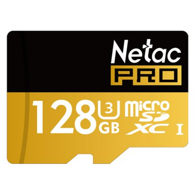 Gearbest Netac P500 Micro SD Memory Card - 128GB