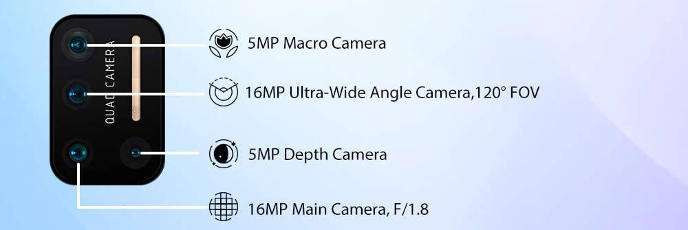 UMIDIGI A7 Pro Kamera